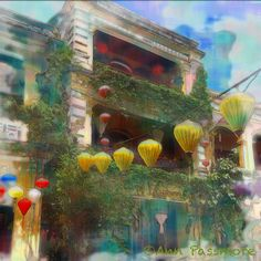 Hoi An, Vietnam  Manipulated in iColorama app