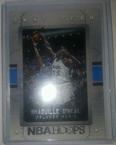 2015-16 Panini NBA Hoops Swat Team 15 Shaquille O'Neal Orlando Magic in Sports Mem, Cards & Fan Shop, Cards, Basketball | eBay