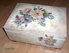 decoupage pudełko - Szukaj w Google