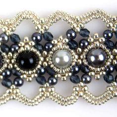 black - silver