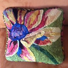 Finally finished into a pillow!