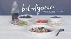 Bol-déjeuner de quinoa au lait de coco Quebec, Brunch, Dairy Free Recipes, Free Food, Smoothies, Breakfast Recipes, Food Porn, Vegetarian, Snacks