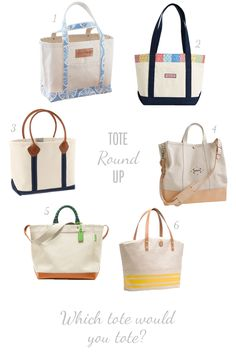 Totes by Maine Cottage |  Well-Made Canvas Tote Bag by Maine Cottage® #mainecottage