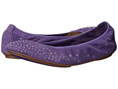 Hush Puppies Lolly Chaste Purple Suede  MA9airHO