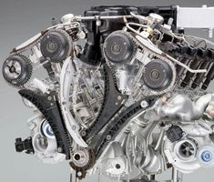 BMW's 6.0L V12 Twin Turbo engine