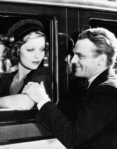 Loretta Young and James Cagney in Taxi!, 1932