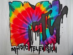 SALE + Free Ship!  Menscave7 NWT MTV MUSIC TELEVISION T SHIRT LARGE WHITE  #MTV #musician #musiceducation