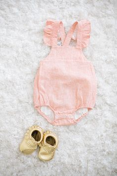 Perfect little girl romper