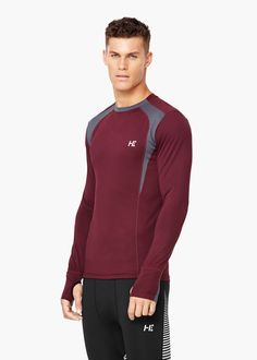 Camiseta running multi-way stretch | MANGO MAN