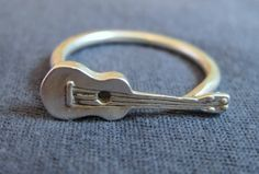 Ukulele Ring Made in Hawaii by Cabin No7 R01 by CabinNo7 on Etsy, $38.00