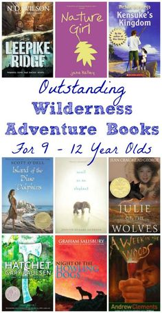 Stranded, shipwrecked and alone -- engaging reads on how determined kids survive in these amazing adventure stories!