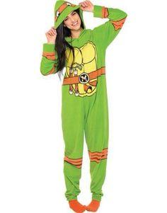 Teenage Mutant Ninja Turtles One Piece Costume Pajamas includes fleece jumpsuit and four masks. Even Ninja Turtles need some rest, cuddle up in our TNMT pajamas! Pijamas Onesie, Onesie Pajamas, Fleece Pajamas, Pjs, Pyjamas, Ninja Turtle Onesie, Ninja Turtles, One Piece Pajamas, Pajama Party