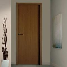 Bespoke reconstituted wenge fire door. Sanrafael Lisa Flush Fire Door - L50 Style Recon Wenge Prefinished #firedoor