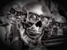 HD Widescreen Wallpaper - skull