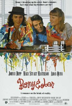 Benny and Joon.....just one of those, feel good movies. If you haven't seen it, you should. One of my most favorite movies! Plus: Johnny Depp is so cute in this movie!!