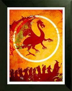 Would love this on my wall. #TheHobbit #Tolkien