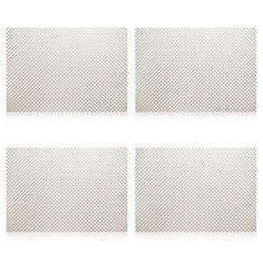 pvc placemats for dining table woven vinyl kitchen placemat for - Vinyl Placemats