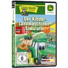 John Deere – Der Kinder-Landmaschinen-Simulator Top-Angebote für « Kinderfahrzeuge