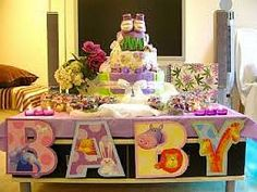 animals Baby shower finger food ideas