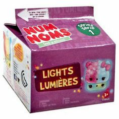 Num Noms Series 1 Lights Lumeres Mystery Blind Pack By MGA Entertainment ×18 Sealed Cartons