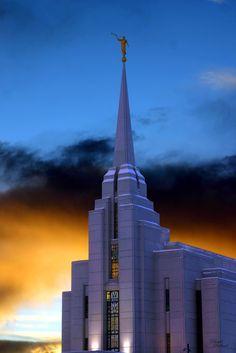 Rexburg ID LDS Temple