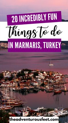 Traveling to Marmaris, Turkey and wondering what to do? Here are incredible things to do in this Mediterranean resort town.| Things to do in Marmaris, Turkey| Marmaris things to do| tourist attractions in Marmaris| Activities to do in Marmaris | Marmaris Turkey things to do| what to do in Marmaris| what to see in Marmaris| Incredible places in marmaris| tourist spots in Marmaris |marmaris turkey |fun activities to do in marmaris #theadventurousfeet Europe Destinations, Amazing Destinations, Iran Travel, Travel Europe, Best Places To Travel, Cool Places To Visit, Travel Guides, Travel Tips, Marmaris Turkey