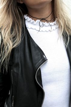 How Fashion Bloggers Wear Tie-Front Chokers