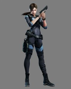 View an image titled 'Jill Valentine Art' in our Resident Evil: Revelations art gallery featuring official character designs, concept art, and promo pictures. Resident Evil 5, Valentine Resident Evil, Jill Valentine, Valentines Art, Sci Fi Characters, Video Game Characters, Science Fiction, Apocalypse Survivor, Evil Games