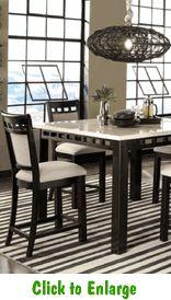 aladain 9piece counter height table set at furniture warehouse the 399 sofa store nashville tn bar u0026 counter height sets pinterest counter