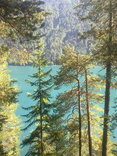 Voor lichtblaauw water hoef je niet naar een tropisch eiland...Weissensee Oostenrijk #Weissensee #Oostenrijk Wonderful Places, Beautiful Places, Travel Around Europe, Lakes, Austria, Travel Guide, The Outsiders, Trips, Scenery