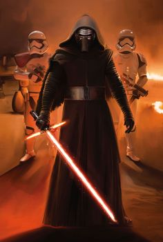 Star Wars Episode Vll the Force Awakens Kylo Ren. ...