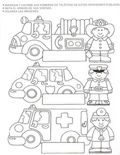 Community helpers worksheets for kids 1 worksheet printables . community helpers worksheets for kids preschool Community Helpers Worksheets, Community Helpers Crafts, Community Helpers Kindergarten, Kindergarten Worksheets, Preschool Activities, Transportation Theme, Kids Learning, Coloring Pages, Educational Activities