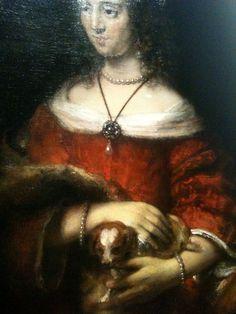 Ook in de 17e eeuw waren schoothondjes hip Paris.