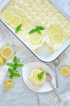Zitronen-Tiramisu Cantaloupe, Fruit, Ethnic Recipes, Food, Whipped Cream, Souffle Dish, Lemon Tiramisu, Oven, Food Food