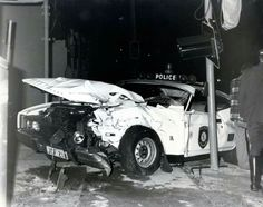 What an amazingly sad waste of Australian motoring history! Emergency Vehicles, Police Vehicles, Old Police Cars, Capri, Aussie Muscle Cars, Old Vintage Cars, Old Fords, Car Crash, Car Humor
