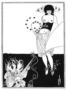 Aubrey Beardsley, The Stomach Dance (1893)