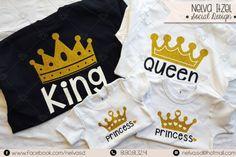 Nelva Itzel Social Design Playeras King Queen Princess
