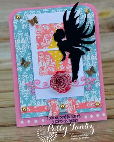 "SWEET CARD CLUB: Reto 58 ""Criaturas mágicas"""