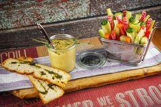 How to Green | Рецепт хумуса с овощами