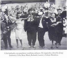 Celia Cruz, Beny Moré, Rolando Laserie y Celeste Mendoza!