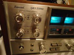 Sansui QRX-5500A  Vintage 4 Channel AM/FM Quad Receiver Look!  Nice!!