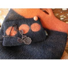Felted Bags, Pouches, Felting, Cases, Throw Pillows, Handbags, Boutique, Crochet, Felt Clutch