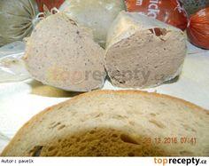 Játrová paštika z tlakového hrnce Thing 1, Bucky, Bread, Food, Brot, Essen, Baking, Meals, Breads