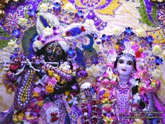 Iskcon Vrindavan, Krishna Janmashtami, Hare Krishna, Captain Hat, Wallpaper, Hats, Places, Wallpaper Desktop, Hat