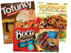 Fake meats should be selected on a product-by-product basis.
