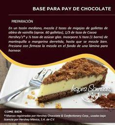 Base para pay de chocolate