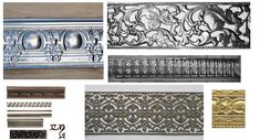 Metal forming decorative trim steel stainless steel channels angles satin finish prototype cover moulding moulding galvanized counteredge paper quill scroll inkwell feather decorative metal trim metal border and liners Decorative Mouldings, Decorative Metal, Decorative Boxes, Stainless Steel Channel, Diy Furniture Tutorials, Metal Forming, Metal Trim, Decoration, Custom Design