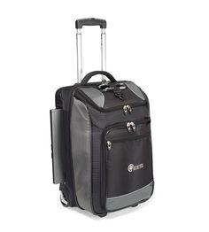 """Travel with ease and style with this 22"""" carry-on sized, split case Wheeled Upright from Gemline"""