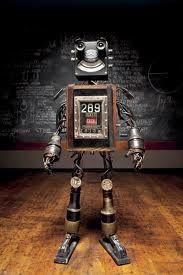 Junk Puppet - Friendly Robot
