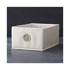 Buff Shoe Bag Drawer, $7.95 crate and barrel - for MUD room cubbies